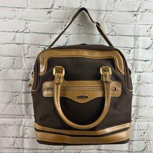 Vintage Brixton travel bag with shoulder strap